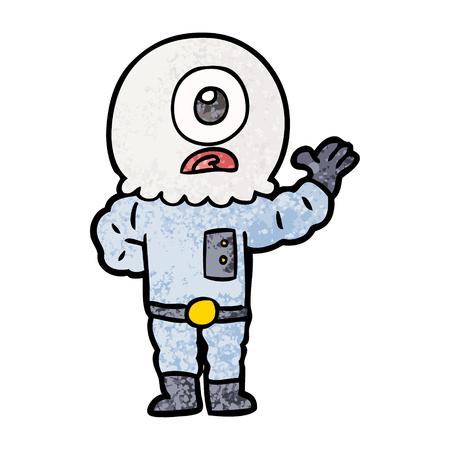 만화 외계인 우주인