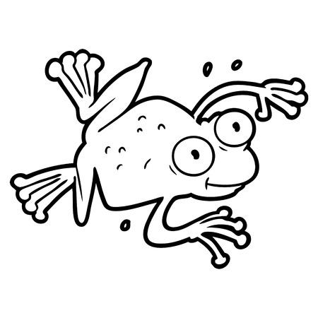 Grenouille de dessin animé Banque d'images - 94700653