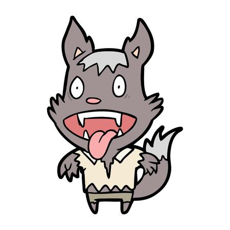 漫画ハロウィーンオオカミ