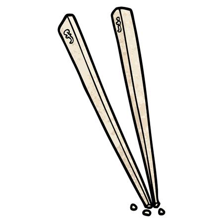 cartoon chopsticks illustration 版權商用圖片 - 94741936