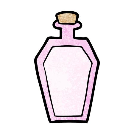 cartoon perfume bottle