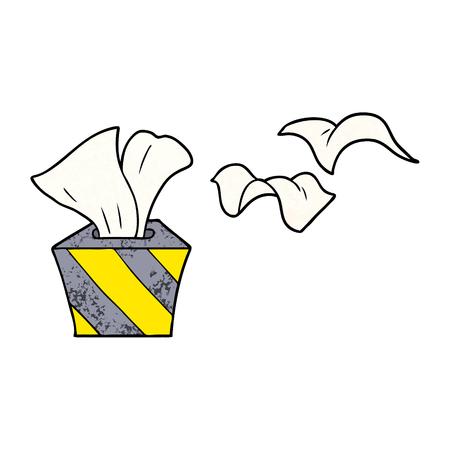 cartoon box of tissues