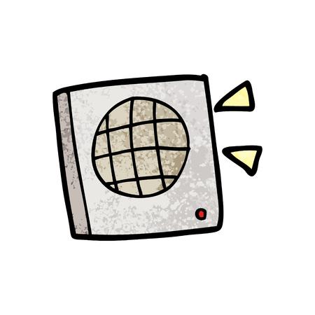 cartoon speaker illustration Ilustração