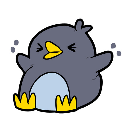 cartoon penguin illustration