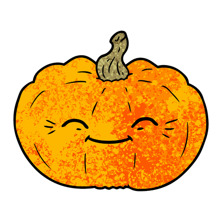 cartoon pumpkin illustration.
