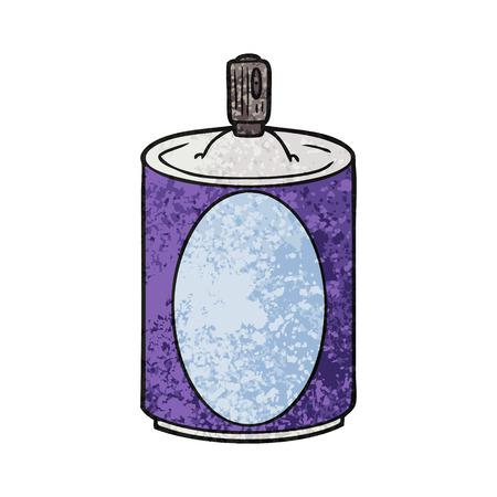 cartoon aerosol spray can Stock Vector - 94701314