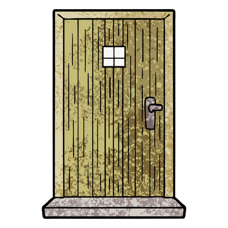 Cartoon deuropening Stockfoto - 94727723