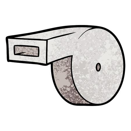 Fischio di cartone animato Archivio Fotografico - 94727852