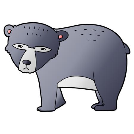 만화 진지한 곰