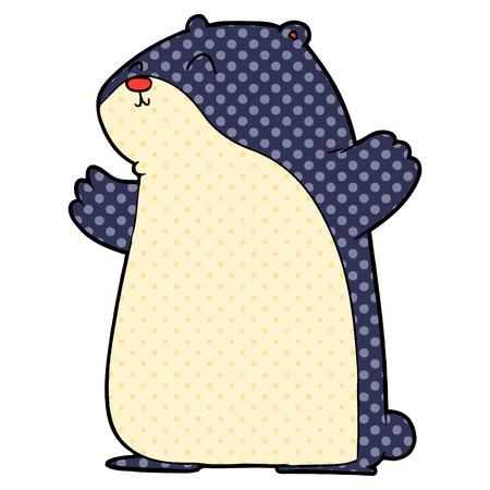 cartoon hamster
