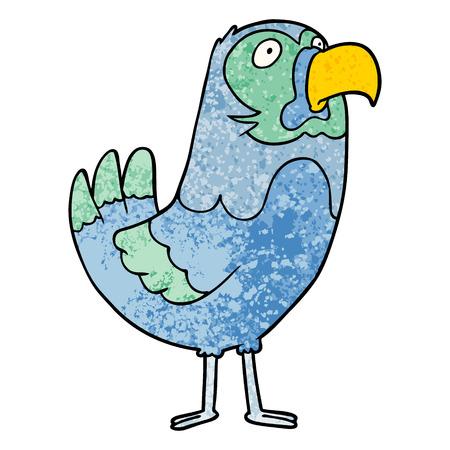 cartoon parrot