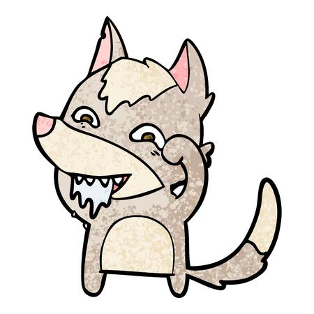 만화 배고픈 늑대