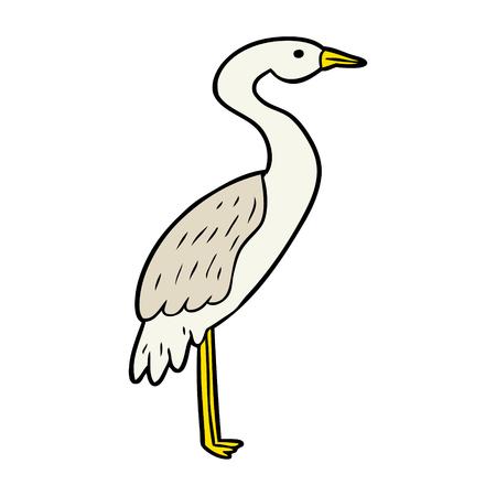 Cigogne de dessin animé Banque d'images - 94732295