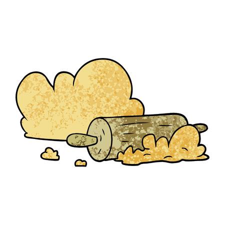 Cartoon Rolling Pin Vektor-Illustration Standard-Bild - 94734489