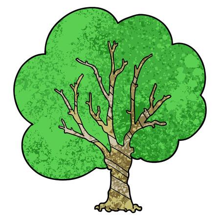 漫画の木のアイコン。  イラスト・ベクター素材
