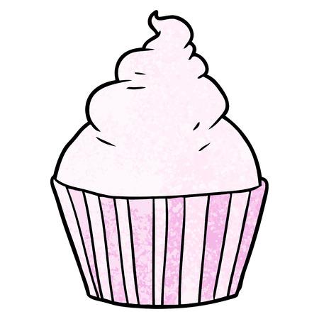 Cartoon cup cake.