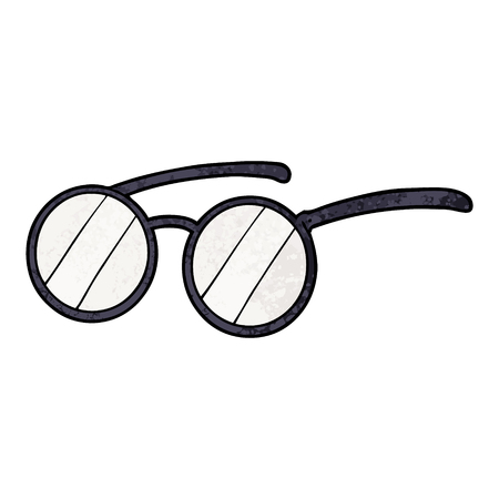 Cartoon spectacles icon.