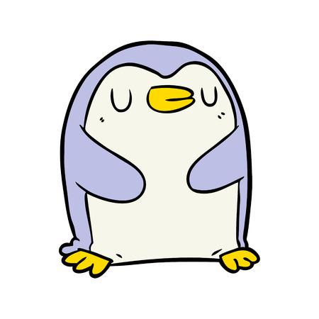 Cartoon pinguïn Stockfoto - 94896352