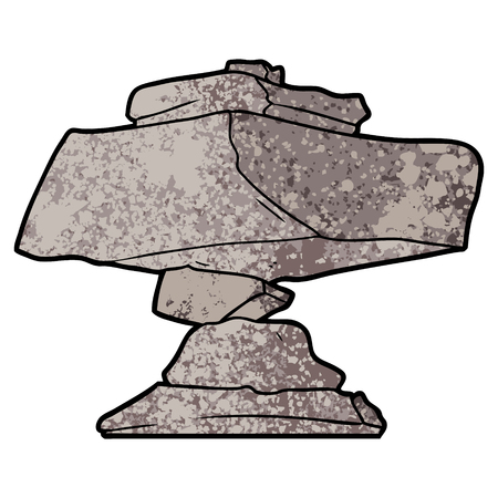 cartoon rocks illustration. Stock fotó - 94742995