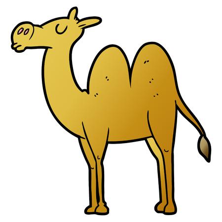 cartoon camel illustration.