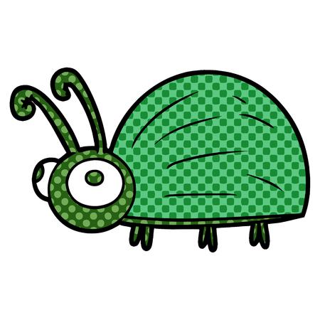 Bug bonito dos desenhos animados Foto de archivo - 94738146