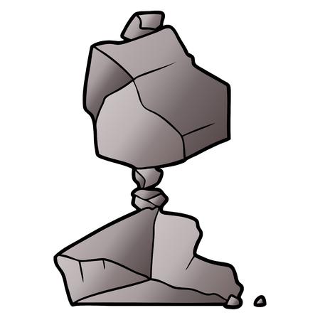 Cartoon Felsen Standard-Bild - 94739123