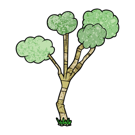 Cartoon sparse tree.