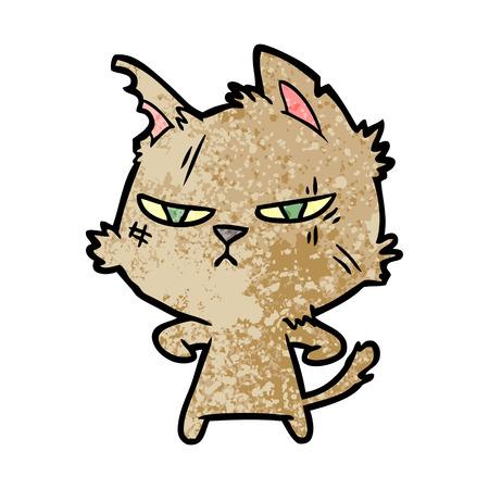 タフな漫画の猫