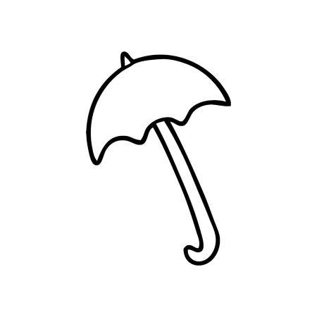 Cartoon umbrella.