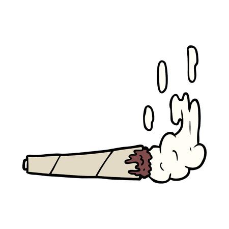 cartoon marijuiana joint