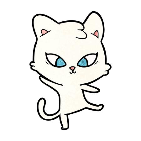 cute cartoon cat Stock Vector - 94742314