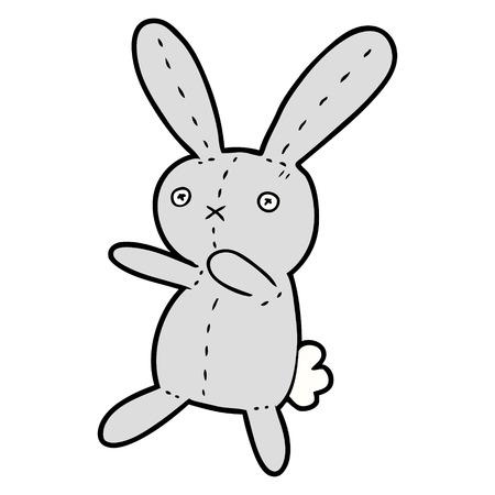 cartoon toy rabbit