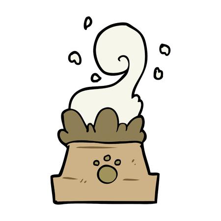 개밥의 만화 그릇