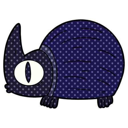 Cute cartoon bug Illustration