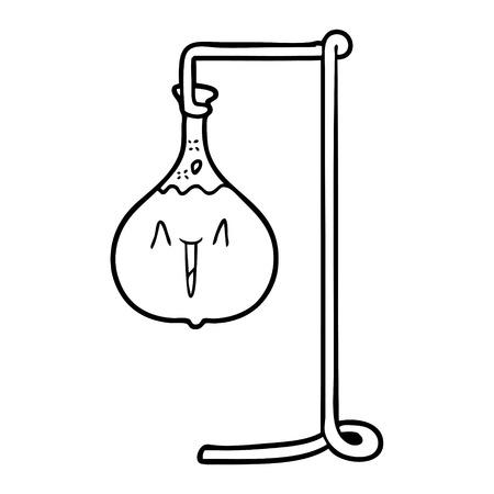 행복한 만화 과학 실험