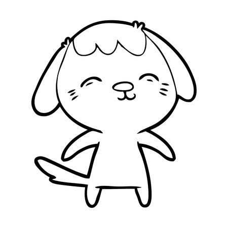 Happy cartoon dog Stok Fotoğraf - 94921571