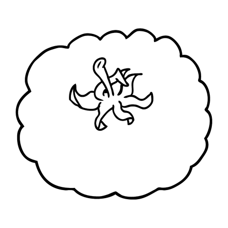A cartoon tomato on white background. Stock Vector - 94838701
