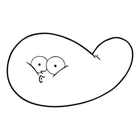 Cartoon Gallenblase Standard-Bild - 94837334