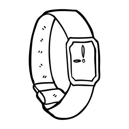 만화 손목 시계