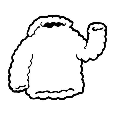cartoon fleece hoody Imagens - 94837443