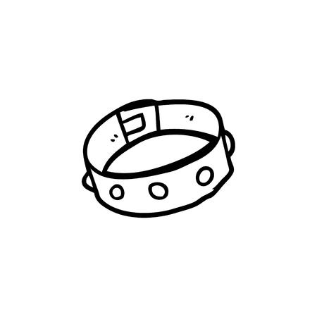cartoon dog collar
