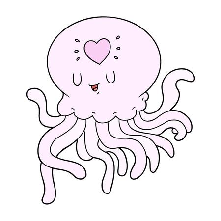 사랑에 만화 해파리