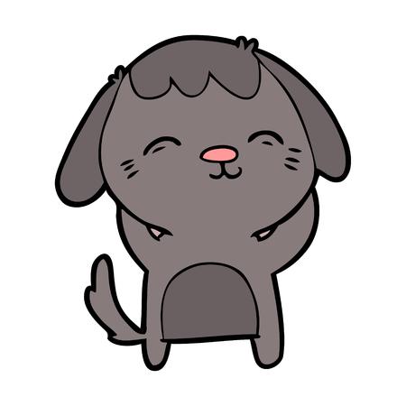 Happy cartoon hond Stockfoto - 94885644