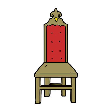 멋진 만화 의자