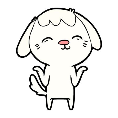 Happy cartoon hond Stockfoto - 94886911