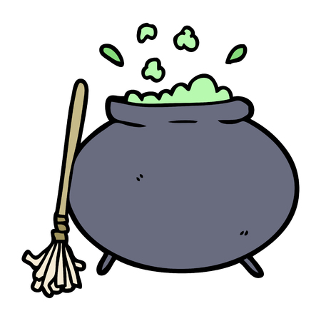 cartoon cauldron