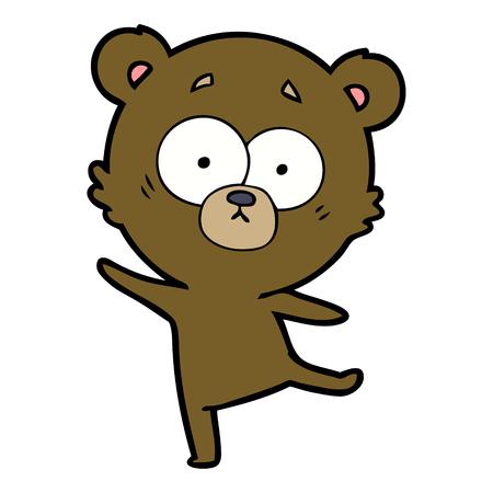worried bear cartoon Stock Vector - 94887553