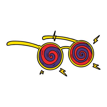 Spécifications de radiographie de dessin animé Banque d'images - 94884689