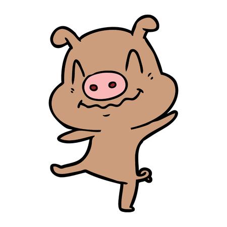 漫画酔った豚