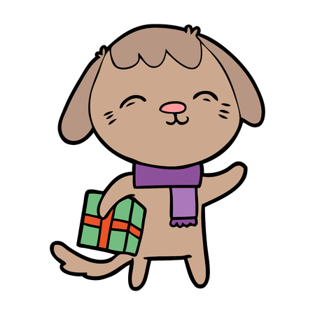 Happy cartoon hond Stockfoto - 94915996